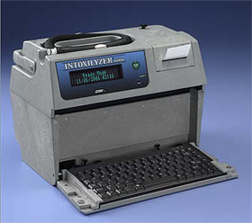 Intoxilyzer 5000 used for DUI & DWI Breath Tests